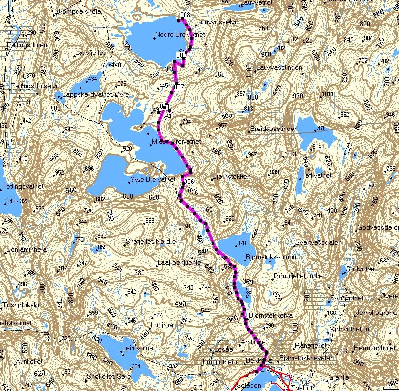 trofors kart Dag 5 av 5 i Lomsdal Visten trofors kart